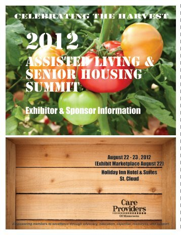Assisted Living & Senior Housing Summit - Care Providers of ...