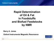 Rapid Determination of Oil & Fat in Foodstuffs and Biofuel ... - MOSTA