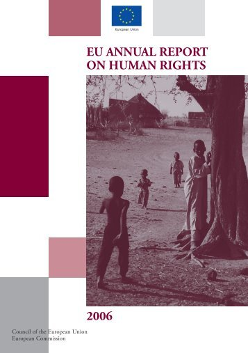 EU ANNUAL REPORT ON HUMAN RIGHTS 2006