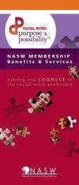 Membership Brochure - National Association of Social Workers
