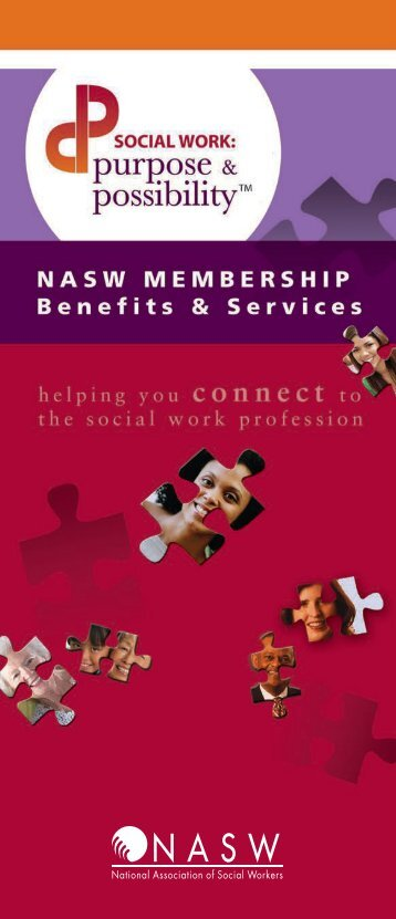 Membership Brochure - National Association of Social Workers