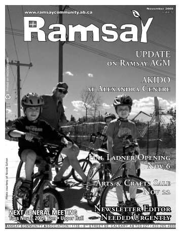 November 2009 - Ramsay Community Association