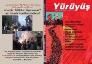 """Gazi'de """"DHKP-C Operasyonu"""" Adı Altında Esnaflara ... - Yürüyüş"""