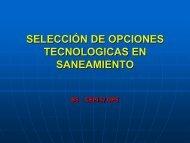 SELECCIÓN DE OPCIONES TECNOLOGICAS