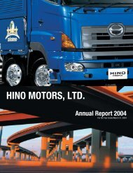 2004 Annual Report - hino global