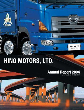 2004 Annual Report - hino global