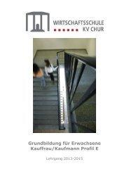 Kursbeschreibung - Wirtschaftsschule KV Chur