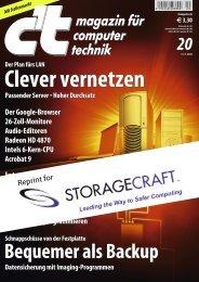 Der Plan fürs LAN Clever vernetzen Passender ... - StorageCraft