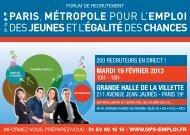 Invitation - Carrefour Emploi