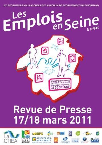 Les Emplois en Seine - Carrefour Emploi