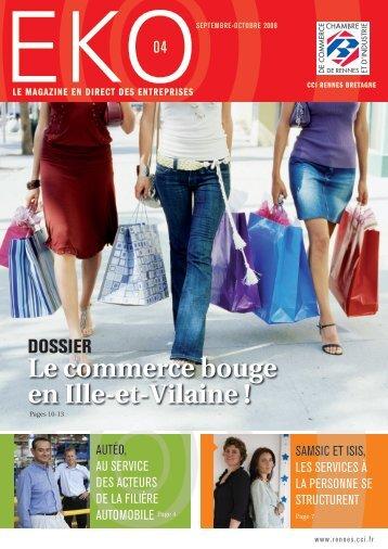 Le commerce bouge en Ille-et-Vilaine ! - CCI Rennes