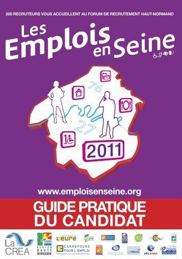 Guide préparatoire - Carrefour Emploi