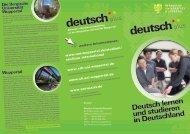 deutsch deutsch - Sprachlehrinstitut - Bergische Universität Wuppertal