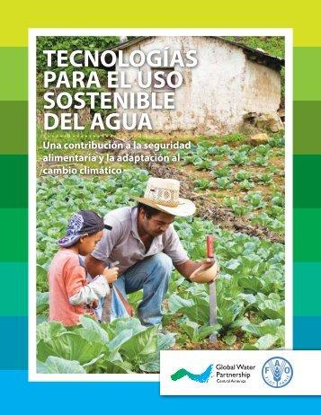 Tecnologias para el uso sostenible del agua
