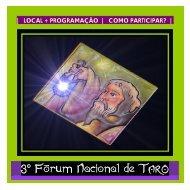 3º Fórum Nacional de Tarô - Academia Virtual de Autoconhecimento ...