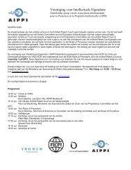 Vereniging voor Intellectuele Eigendom - Aippi