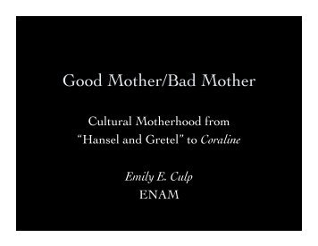 Good Mother/Bad Mother - MiddLab