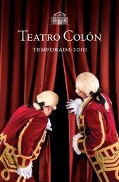 temporada 2010 - Habitués del Teatro Colón