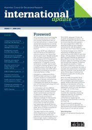 International Update Issue 3, June 2012 - ACER