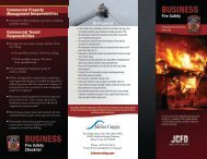 Business Safety Checklist - City of Johns Creek