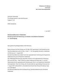 Genehmigungsbescheid vom 1. Juni 2007 - SPD Ortsverein ...
