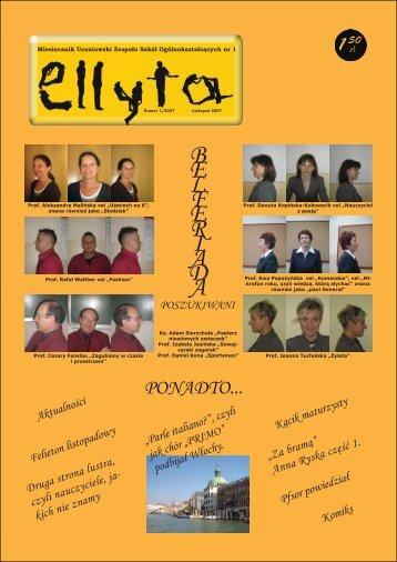 Wydanie 1 2007/2008 - ZSO nr 1