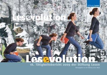 DIE PROJEKTE DIE MASSNAHMEN - Stiftung Lesen