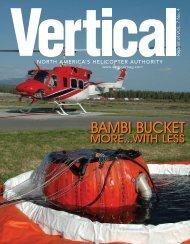 Vertical Magazine Features the Bambi Bucket - SEI Industries Ltd.