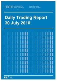 Daily Trading Report 30 July 2010 - EMC