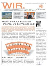 WIR Nr. 1/2012 - downloaden - Elektro Kreutzpointner