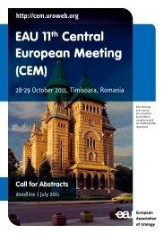 EAU 11th Central European Meeting (CEM)