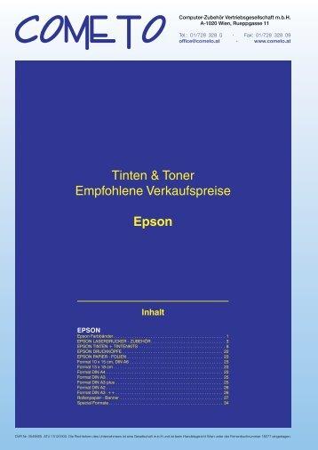 PDF-Katalog Epson - Cometo