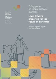 Local Leaders Preparing for the Future of Our Cities - UCLG
