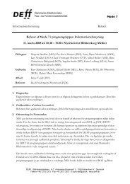 Referat af møde 7 i INFO - DEFF
