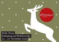 Wilde Weine Einladung zur Probierwoche 02. – 07 ... - Elcampo