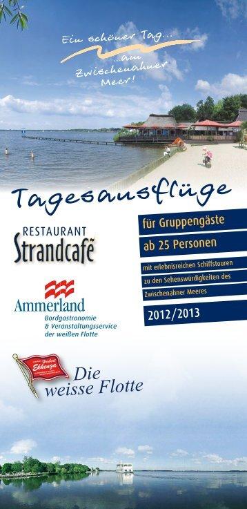 PDF öffnen - Restaurant Café Strandcafé in Bad Zwischenahn