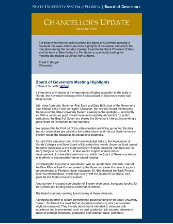 71.9 KB PDF - Florida Board of Governors