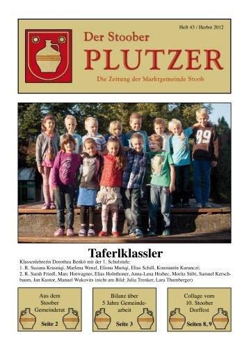 Taferlklassler - Marktgemeinde Stoob