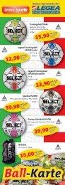 Trainingsball TEAM Jugend-Trainingsball ... - LEGEA - Lemm Sports