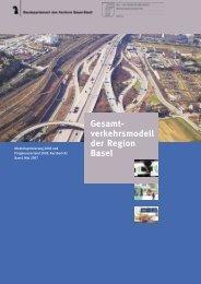 Broschüre Gesamtverkehrsmodell der Region Basel - Kanton Basel ...