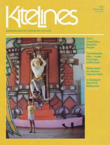 Kite Lines - Spring 1985 (Vol. 5 No. 3) - KiteLife