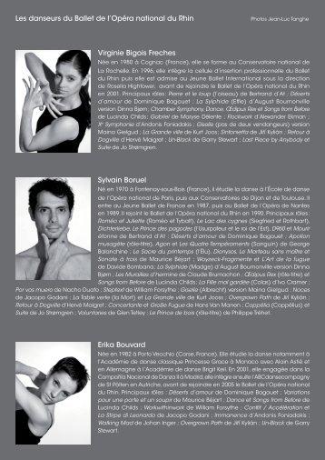 Trombinoscope Bios danseurs 2009- 2010.indd - Opéra national du ...