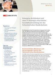 Enterprise Architecture und neue IT-Strategie unterstützen ... - Mega