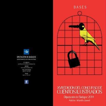 Díptico de Bases de XVII Cuentos Ilustrados (PDF) - Diputación de ...