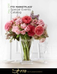 Special Events Catalog - FTD, Inc.