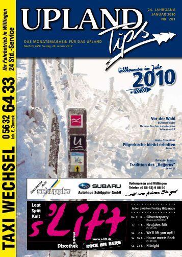 Januar-2010-Upland-Tips - Willingen live