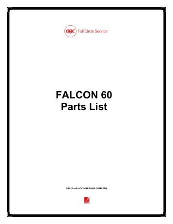 Ultra Sport 60 Parts List
