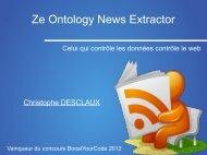 Ze Ontology News Extractor