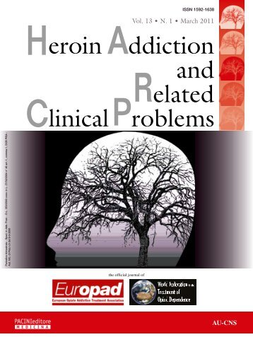 Heroin Addiction & Related Clinical Problems - Pain Treatment ...