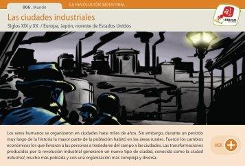 Las ciudades industriales - Manosanta